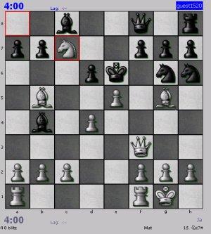Halloween Atak cz-3 szachy - 2