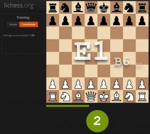 Poznaj współrzędne szachownicy