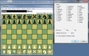 Odmiany szachów pod Winboardem