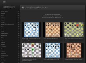 Biblioteka filmów szachowych Lichess