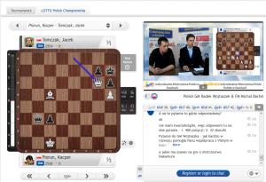 Transmisja z Mistrzostw Polski na Chess24