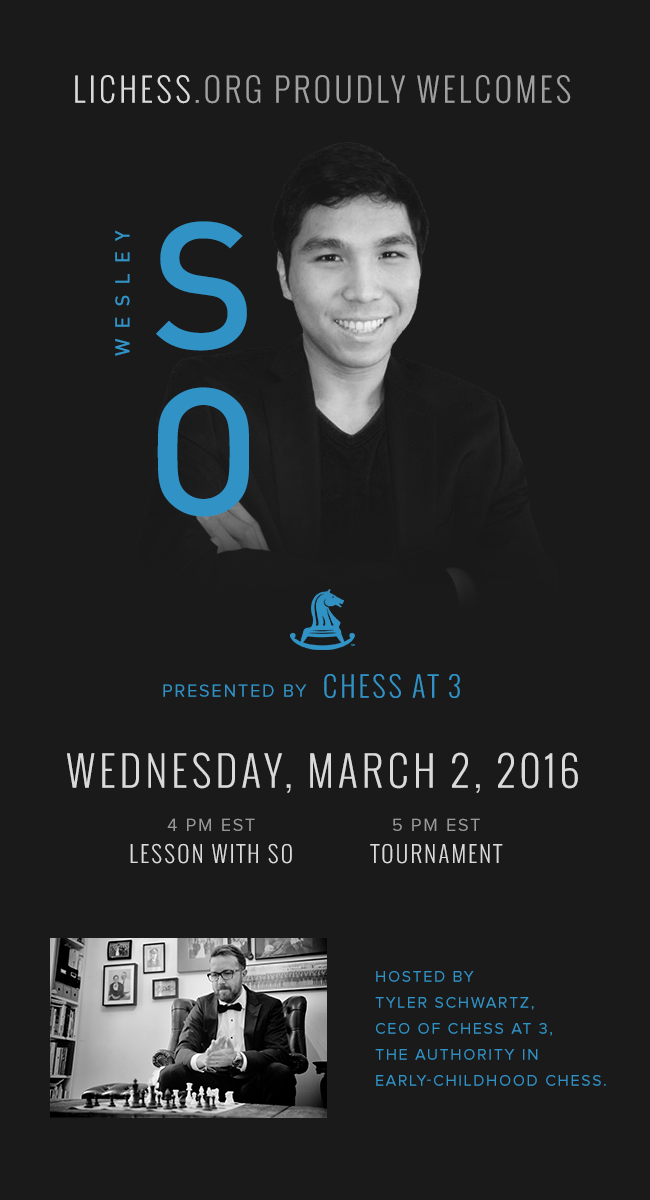 Wesley So na Lichess.org